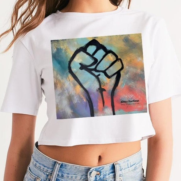 Power Bitter Darlings Women's Cropped Tee - ComfiArt