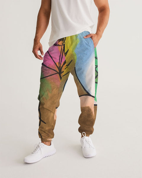 Roses6 Men's Track Pants - ComfiArt
