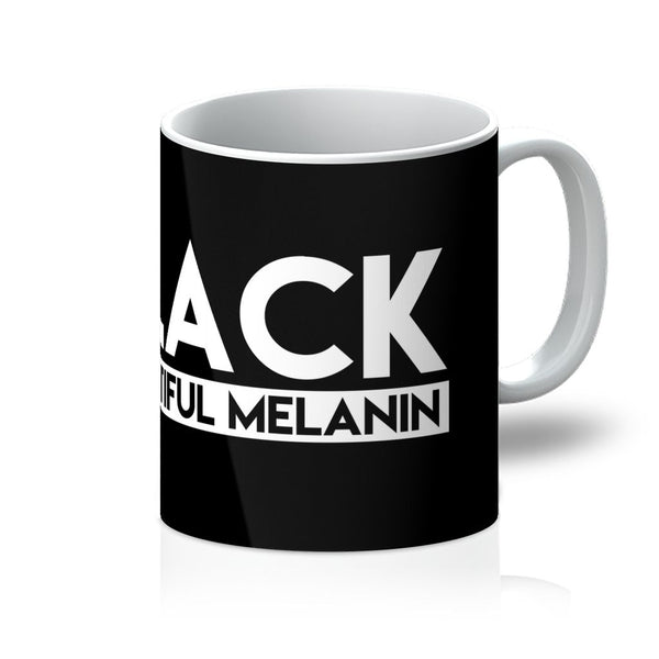 Blk Beautiful Melanin Mug - ComfiArt
