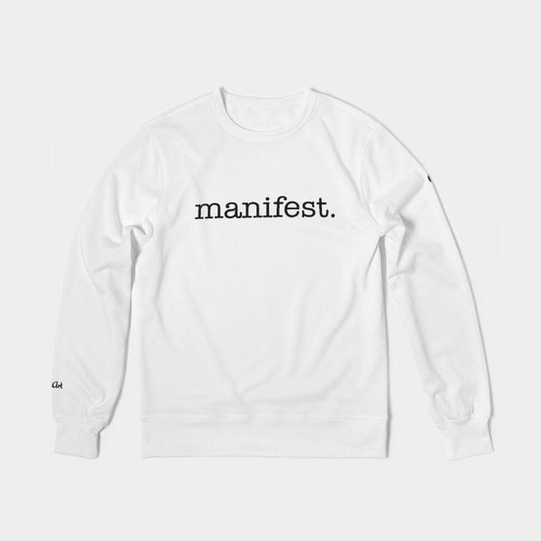 Manifest Unisex Classic French Terry Crewneck Pullover - ComfiArt