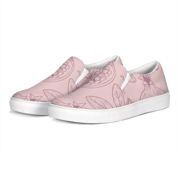 Pink Slip-On Canvas Shoe - ComfiArt