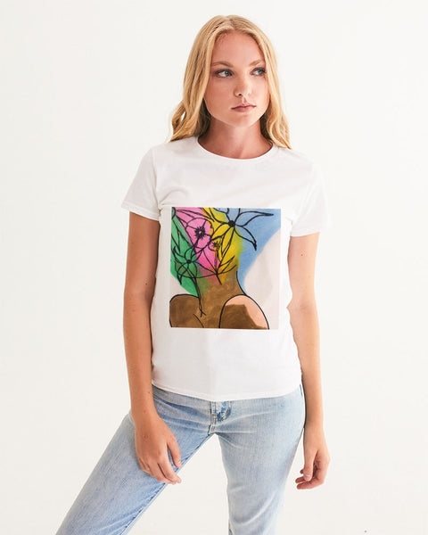 Roses6 Women's Graphic Tee - ComfiArt