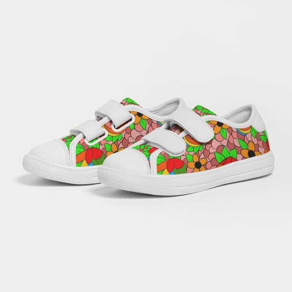 Izwi Collage Kids Velcro Sneaker