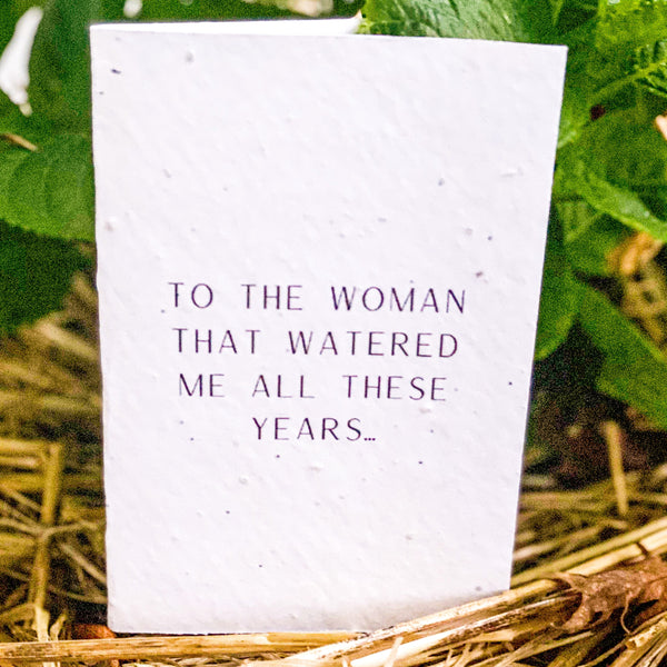 Woman That Watered