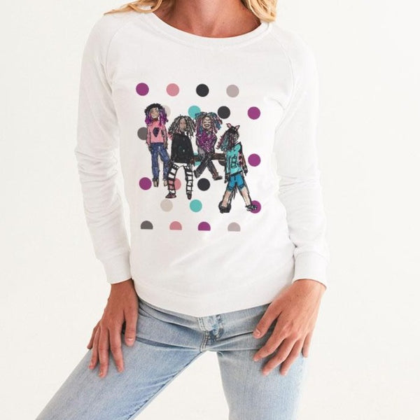 M+M Women's Graphic Sweatshirt - ComfiArt