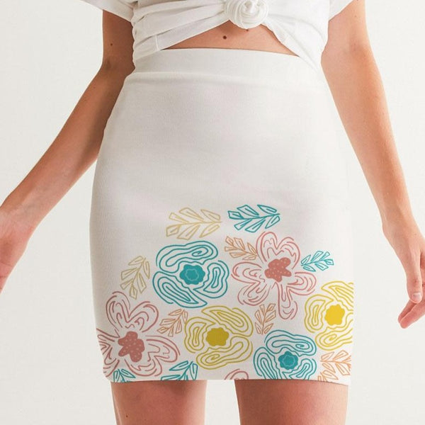 Bloom  Women's Mini Skirt