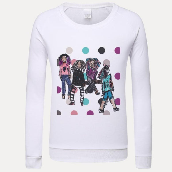 M+M Kids Graphic Sweatshirt - ComfiArt