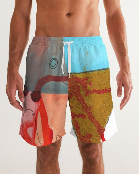 Mind Men's Swim Trunk - ComfiArt