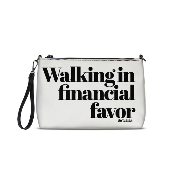 Walking in Financial Favor Daily Zip Pouch - ComfiArt