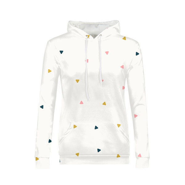 Abstract Fall Womens All-Over Print Hoodie - ComfiArt