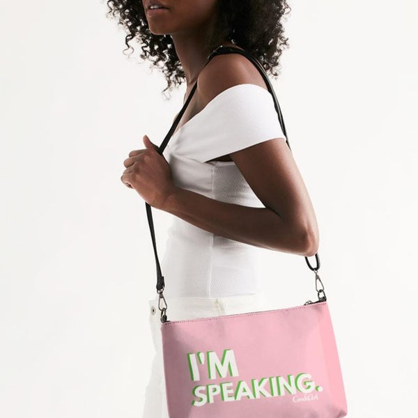 I'm Speaking AKA Daily Zip Pouch - ComfiArt