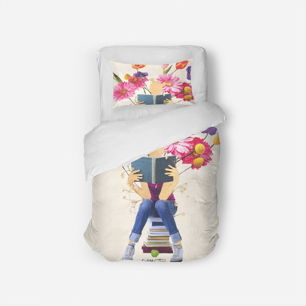Tending the Garden  Twin Duvet Cover Set - ComfiArt