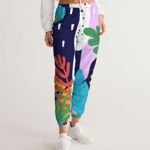 PopFloral Track Pants - ComfiArt
