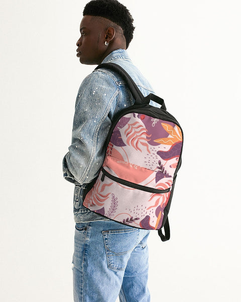 purp Small Canvas Backpack - ComfiArt