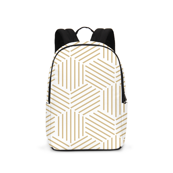 Gold HoneyComb Large Backpack - ComfiArt