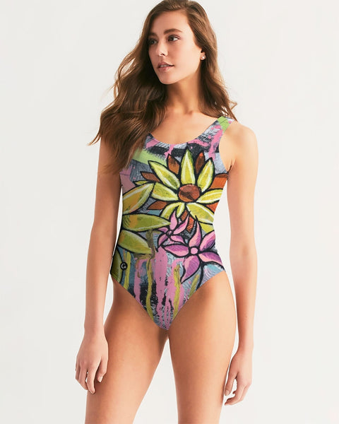 Evangeline Women's One-Piece Swimsuit - ComfiArt