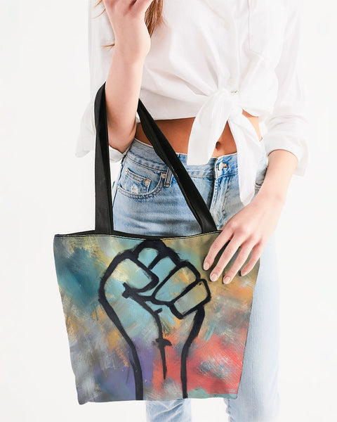 Power Bitter Darlings Canvas Zip Tote - ComfiArt