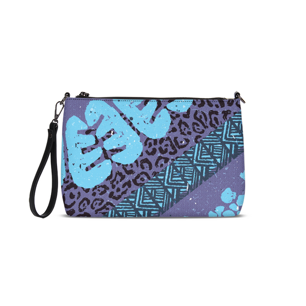 Blue News Daily Zip Pouch - ComfiArt