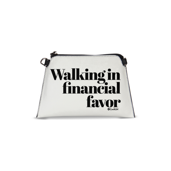 Walking in Financial Favor Wristlet - ComfiArt