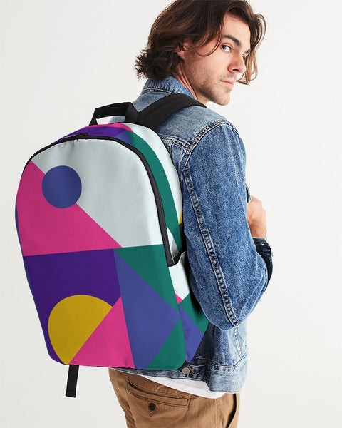 Color Abstract Large Backpack - ComfiArt