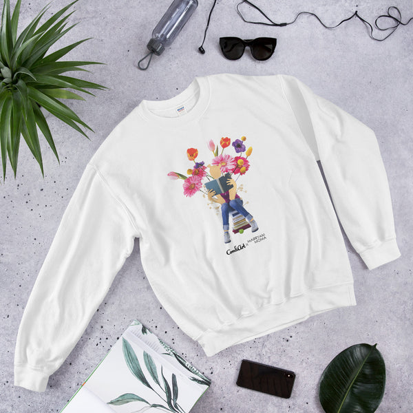 Tender the Garden Sweatshirt - ComfiArt