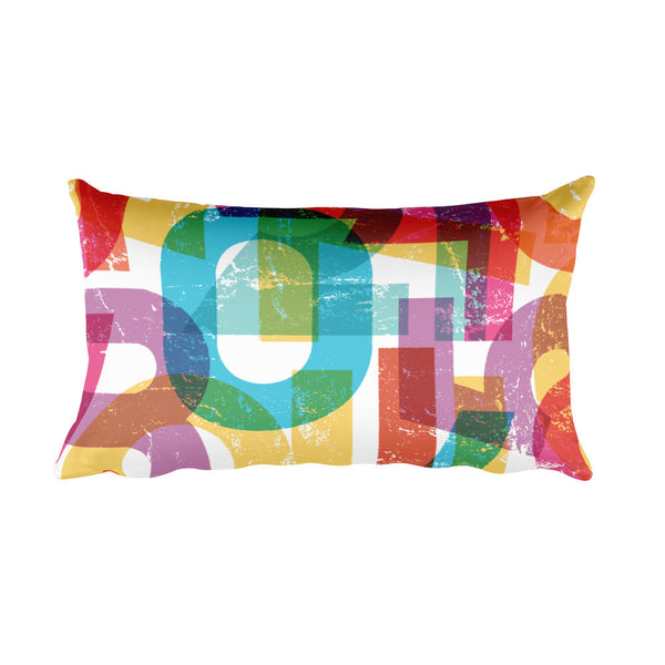 Numbers Rectangular Pillow - ComfiArt