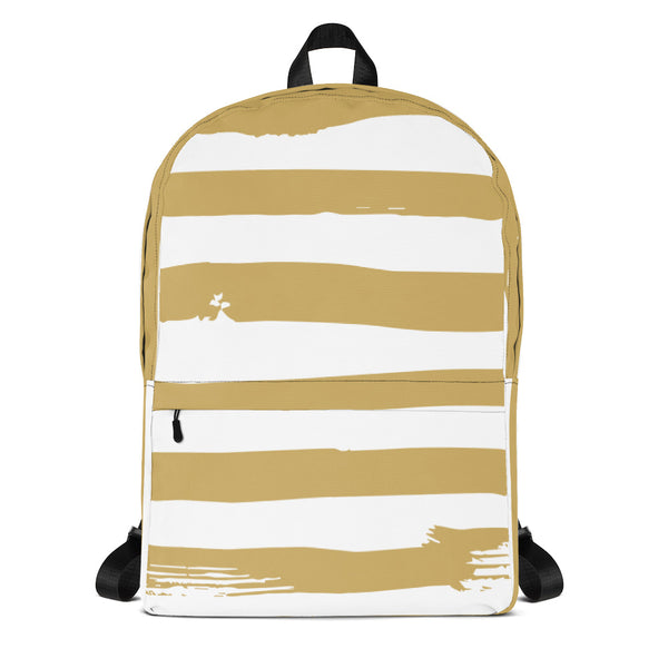 Gold Strip Backpack - ComfiArt