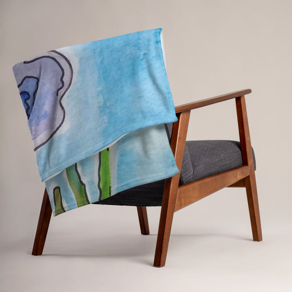 Azul Throw Blanket - ComfiArt