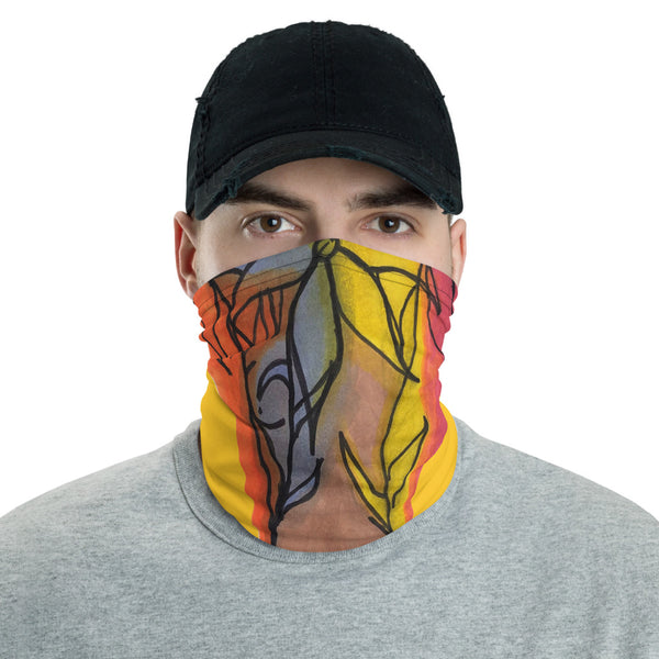 Yellow Neck gaiter - ComfiArt