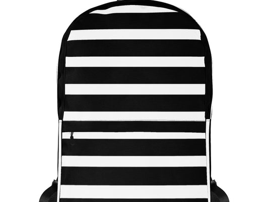 Blk Strip Backpack - ComfiArt