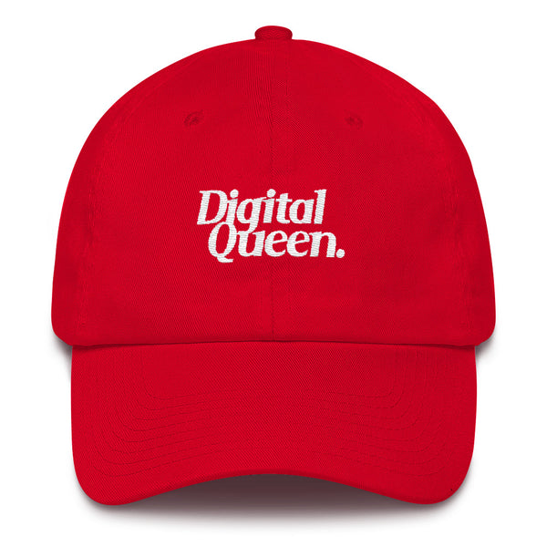 Digital Queen Cotton Cap - ComfiArt