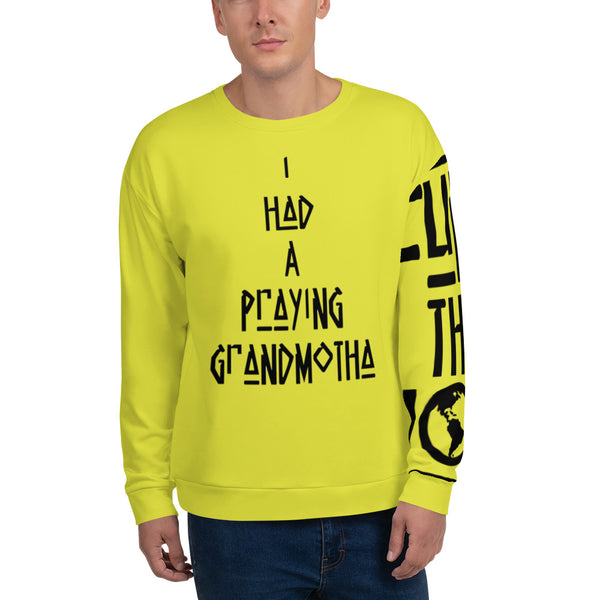 Praying Neon Unisex Sweatshirt - ComfiArt