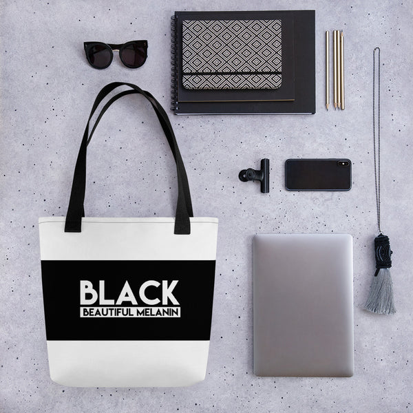 BLK Beautiful Melanin  Tote bag - ComfiArt