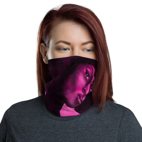 Color of Funk Pink Neck gaiter - ComfiArt