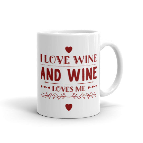 I Love Wine - ComfiArt