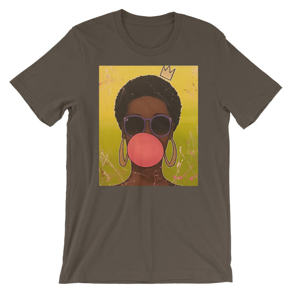 Bubble Gum Short-Sleeve Unisex T-Shirt - ComfiArt