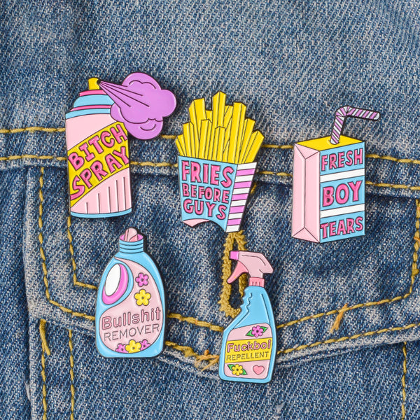 Feminist pins collection - ComfiArt