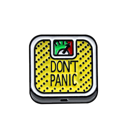 DON'T PANIC Pin - ComfiArt