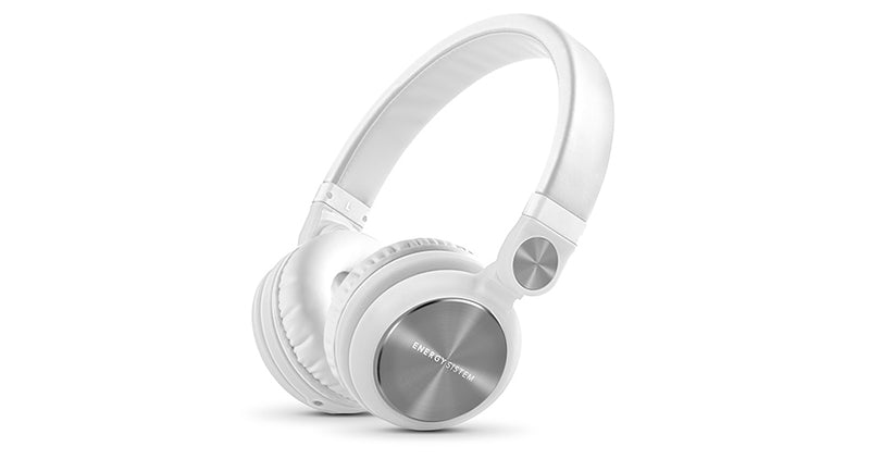 Headphone DJ2 Energy Sistem  Color Blanco (Con Microfono)
