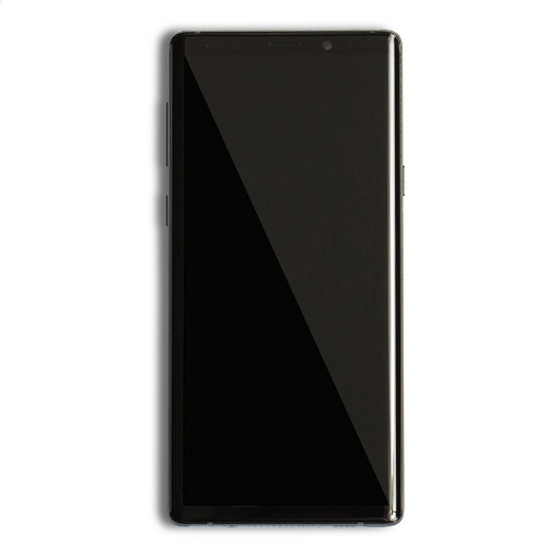 Pantalla para Samsung Note 9 Color negro. Con Housing frontal.