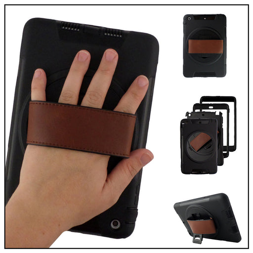Estuche para iPad Air 2, Strap On. Negro
