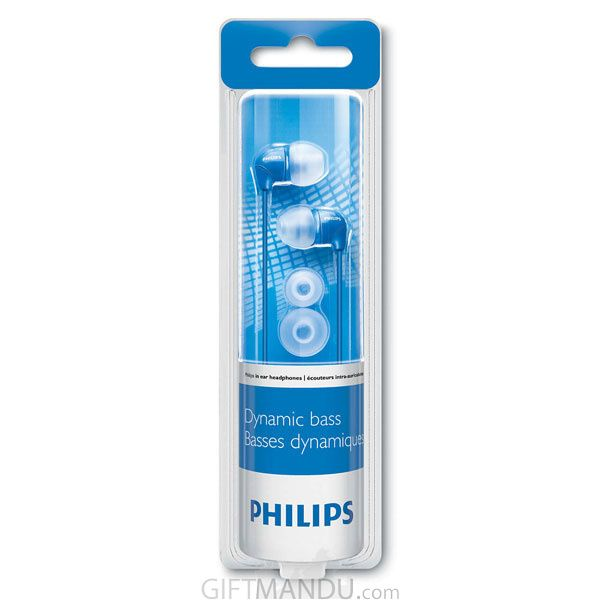 Audifono Philips In Ear Color Azul