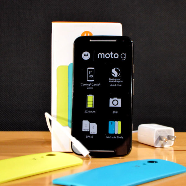 Moto G (2nd Gen) | 16GB | Color Negro | XT1068 | Liberado