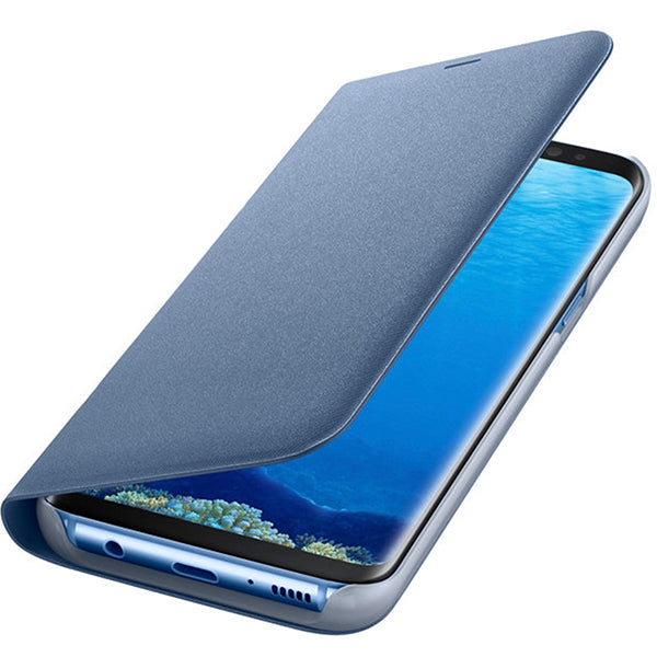 COVER FLIP CASE GALAXY S8+ BLUE