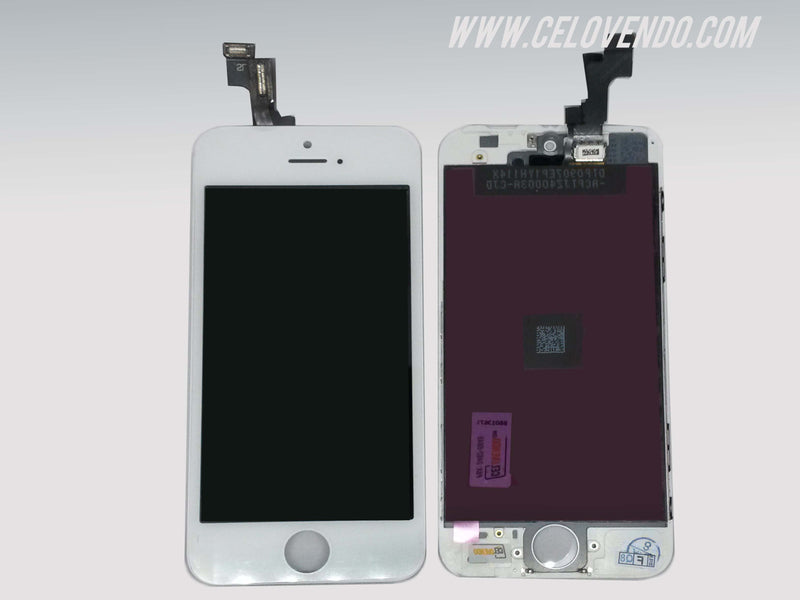 Pantalla LCD y Touch iPhone 5s Blanca.