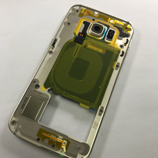 Back Housing Samsung Galaxy S6 Edge (G925) Dorado