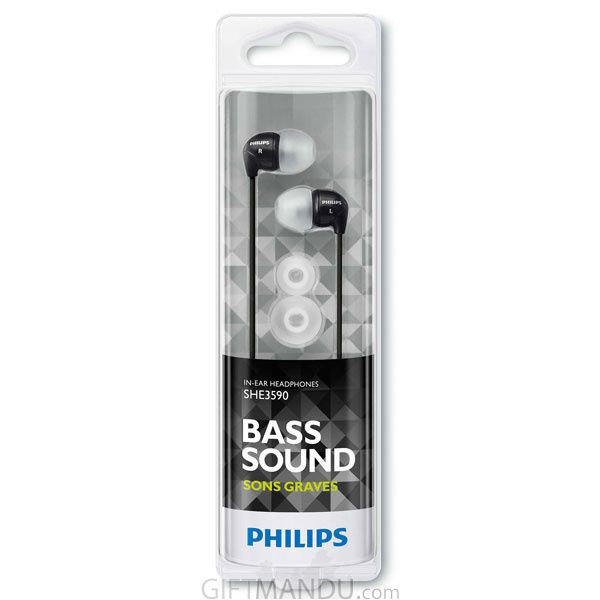 Audifono Philips In Ear Color Negro