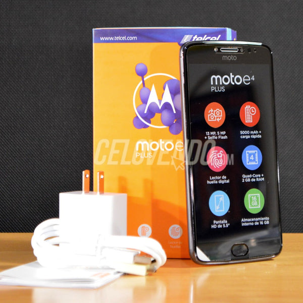 Motorola E4 Plus |Color Gris Metalico | 16GB | XT1772 16GB  SS | Liberado