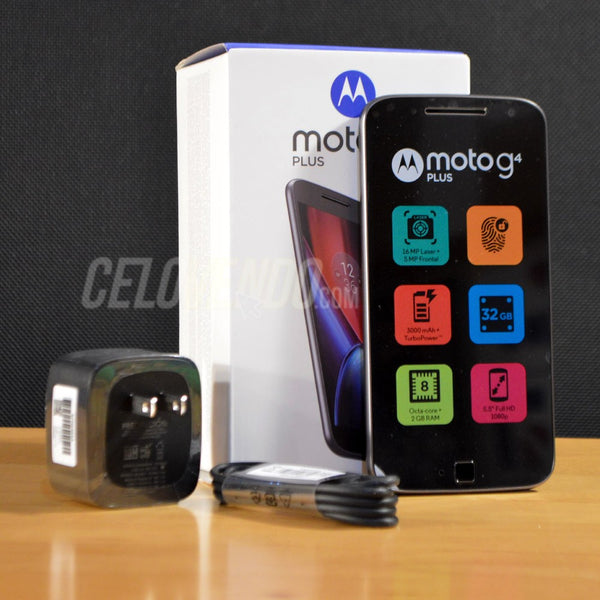 Motorola G4 Plus | Color Negro | 32GB | XT1641 | Liberado