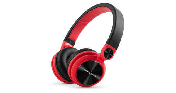 Headphone DJ2 Energy Sistem  Color Rojo (Sin Microfono)